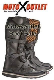 Kids Youth Dirt bike Boots Mx Motocross Motorcycle Boots 3