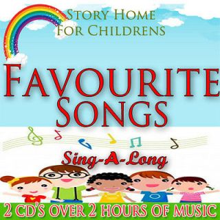 Childrens Nursery Rhymes Sing along Songs on 2 CDs Kids Favourite