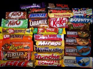 CANADIAN CHOCOLATE BARS various flavours 12 FULL SIZE bars