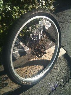 schwinn OCC stingray chopper bike bicycle front wheel and tire