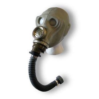 Russian Army Soviet Gas Mask Hose Sniper Military Surplus Gasmask Rare