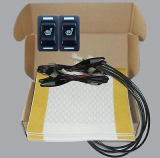 Hi off Lo switch seat heater,2 seats heated seat kit,fit all 12V cars