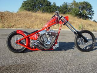 DOWNTUBE CHOPPER FRAME ~ Harley S&S Motor ENGINE 1948 1999 PAN EVO
