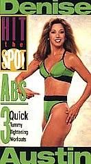 Denise Austin   Hit the Spot Abs VHS, 1995