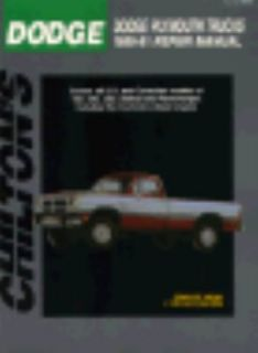 Dodge   Plymouth Trucks 1989 91 1991, Paperback