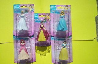Disney Princess~Cinderella~Aurora~SnowWhite~Belle~Ariel Cake Topper