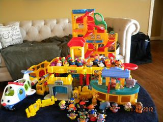 Newly listed Fisher Price Little People Assorted Lot with Car Wash