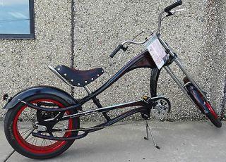 Schwinn Stingray Chopper Bike Adults New Black with Red Detail