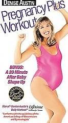 Denise Austin   Pregnancy Plus Workout VHS, 2000