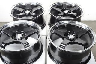 17 4x100 4x114.3 Effect Wheels Passat Cobalt Legend Integra Fit Civic