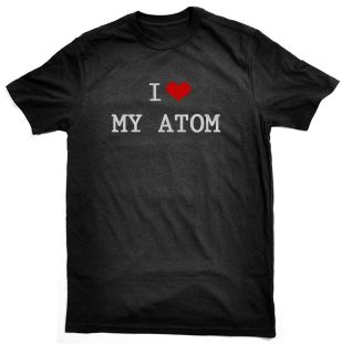 Love My Atom T Shirt, for Ariel owners/drivers​, choice colours