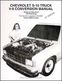 1982 1993 Chevy S 10 Truck Blazer V8 Conversion Book S10 GMC S15 Jimmy