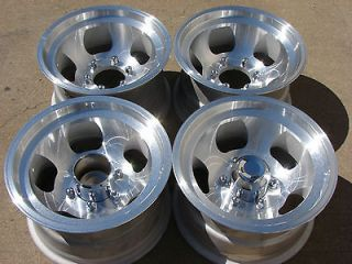 15x8.5 Ansen Sprint Slot 6x5.5 Mags Wheels Rims GMC CHEVY 6 LUG BLAZER
