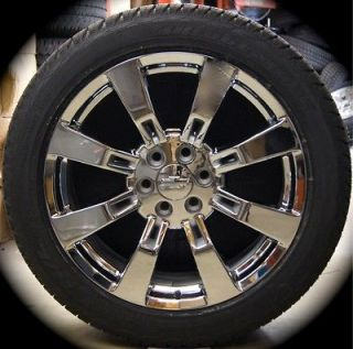 NEW GMC Sierra Yukon Denali Cadillac Escalade Chrome 22 Wheels Rims
