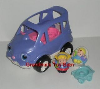 Fisher Price Little People LIL MOVER SUV Mini Van Car