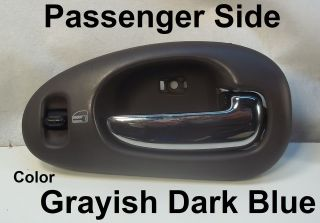FRONT DOOR HANDLE Chrysler 300M LHS RT LEVER GRAYISH DARK BLUE