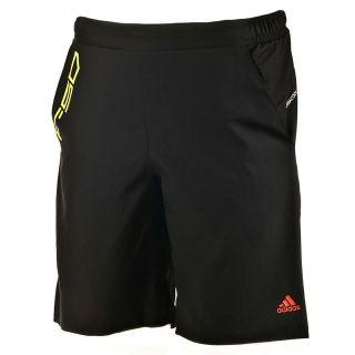 Adidas ClimaCool Mens Black F50 Shorts   Football Training 3 Stripe