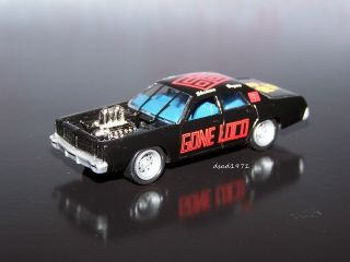 1977 DODGE MONACO DEMOLITION DERBY CAR MINT 1/64 SCALE DIE CAST