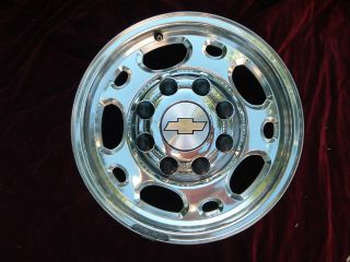 Chevy GMC 1500HD 2500 3500 SRW wheel rim OEM 5079 16x6.5 factory