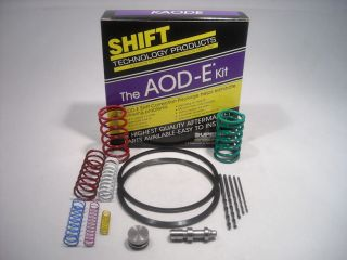 VALVE BODY SHIFT CORRECTION PACKAGE KIT AODE 4R70W SUPERIOR