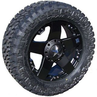 XD WHEELS NITTO TRAIL GRAPPLER LT295/70R18 6X135 6X5.5 FORD CHEVY GMC