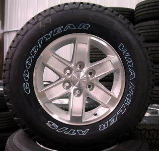 GMC Sierra Yukon OEM 17 Wheels Rims Tires Chevy Silverado Suburban
