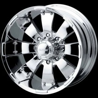 HULK CHROME FORD F250 F350 EXCURSION ALL 3/4 TON FORD TRUCKS WHEELS