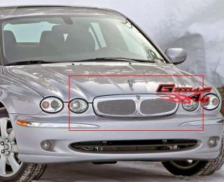 02 06 Jaguar X Type Stainless Mesh Grille Insert (Fits Jaguar X Type)