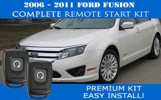 Newly listed PREMIUM Ford Fusion Remote Start Complete Kit 2006 2011