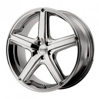 17 inch maverick chrome wheels rims 5x4.25 5x108 lincoln ls mk vlll