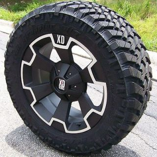 WHEELS & 33 NITTO TRAIL GRAPPLER TIRES GMC SIERRA 2500 3500 8X180