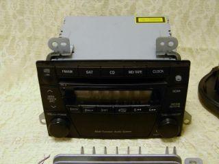 Mazda 2004 06 MPV LX OEM Multi Function Audio System CD Player/Radio L