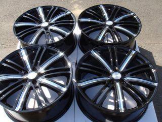 17 5x108 Black Wheels Ford Focus Taurus Titanium Volvo Jaguar S40 S60