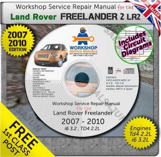 Land Rover Freelander repair manual in Land Rover