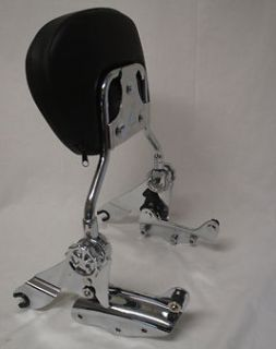 Detachable Backrest sissy bar for Harley touring 09 UP