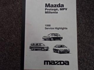 Mazda Millenia repair manual in Mazda