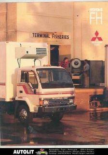 1994 Mitsubishi Fuso FH Van Wrecker Tank Truck US Brochure