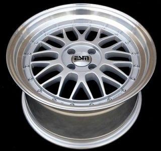 17 17x8 17x9 LM Wheels Rims 5X100 ESM 004 VW SCION SUBARU TOYOTA