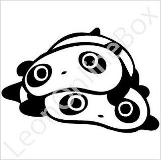 Tare Panda With Other   Cartoon Decal Vinyl Car Wall Laptop Cellphone