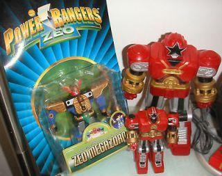 Power Rangers Zeo Megazord Red Battlezord Puncher Ohranger Robo Super