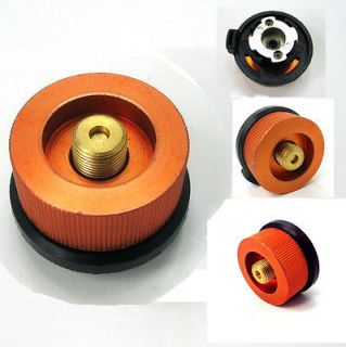 Burner Cartridge Gas Fuel Canister Stove Cans tank Adapter Convert