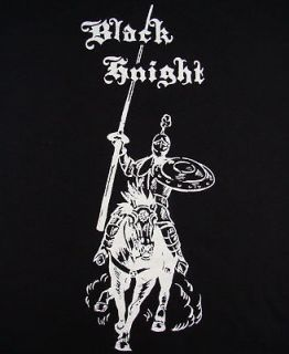 Black Knight Vintage Skateboard   NEW T Shirt Limited