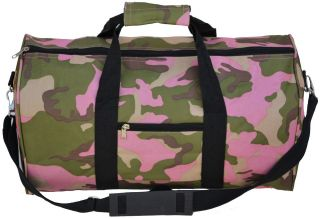 Every Day Carry Pink Camouflage Ladys Travel Medium Duffel Bag