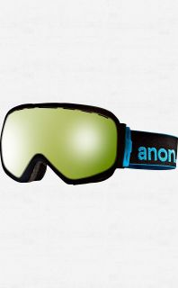 ANON INSURGENT Goggles Black with Blue Lagoon Lens MENS Ski Snowboard