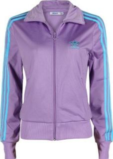 New Purple Adidas Originals Firebird Track Womens Top Jacket Size XS