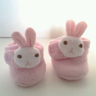 Pink Bunny Slippers  American Girl Dolls Bitty Twins Bitty Baby Just