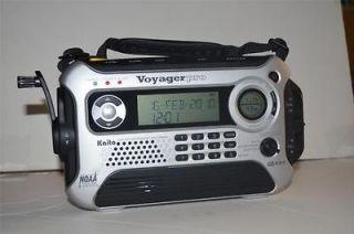 KA600 SOLAR/HAND CRANK DIGITAL AM/FM/SW WEATHER ALERT EMERGENCY RADIO