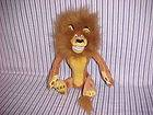RUSS 15 MADAGASCAR ALEX LION STUFFED PLUSH ANIMAL