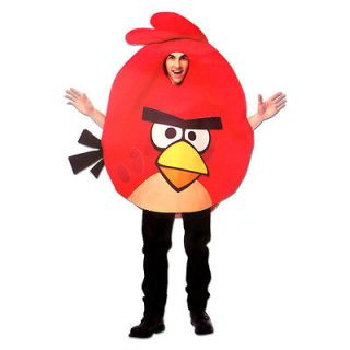 Angry Birds Adult Unisex Costume Red Bird