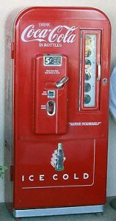 COCA COLA VINTAGE VENDING MACHINE   5 CENT